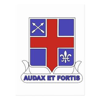 Regimiento de infantería del ejército 74.o tarjeta postal