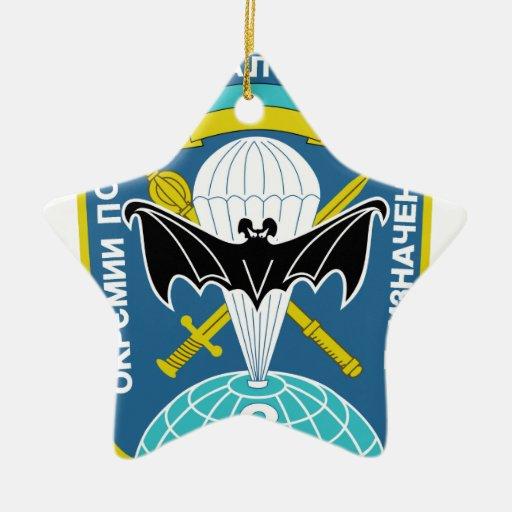 Regimiento de Spetsnaz del stofmerker de SPETSNAZ Ornamento Para Arbol De Navidad