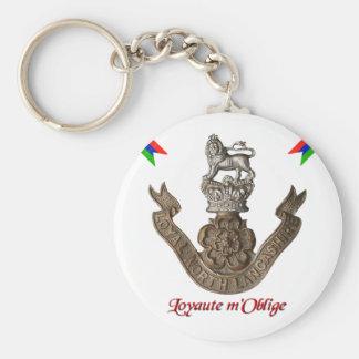 Regimiento del norte leal de Lancashire Llavero Redondo Tipo Pin