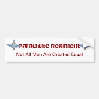 regimiento del paracaídas - igual pegatina para auto