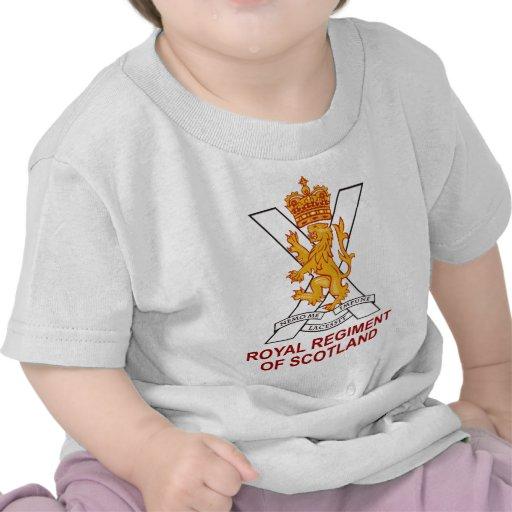 Regimiento real de Escocia Camiseta