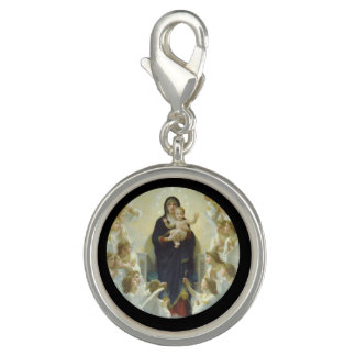 Regina Angelorum Mary with Angels Charms