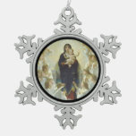 Regina Angelorum Mary with Angels Ornament