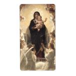 Regina Angelorum por Bouguereau, ángeles del Etiquetas De Envío