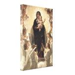 Regina Angelorum por Bouguereau, ángeles del Lona Estirada Galerías