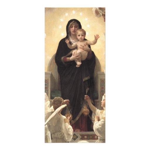 Regina Angelorum por Bouguereau, ángeles del Plantillas De Lonas