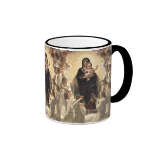 Regina Angelorum por Bouguereau, ángeles del Taza De Café