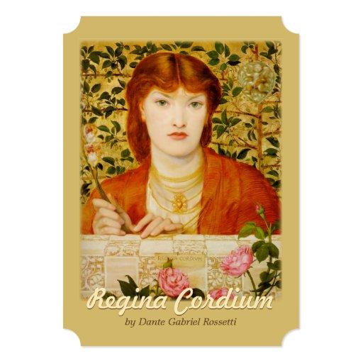 Regina Cordium CC0651 Rossetti Flat Card