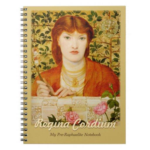 Regina Cordium CC0652 My Pre-Raphaelite Notebook