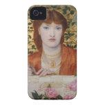 Regina Cordium - Dante Gabriel Rossetti iPhone 4 Case-Mate Cárcasa
