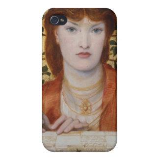 Regina Cordium - Dante Gabriel Rossetti iPhone 4 Carcasa