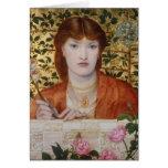 Regina Cordium - Dante Gabriel Rossetti Tarjeta De Felicitación