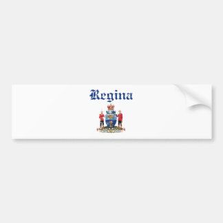 regina designs bumper sticker