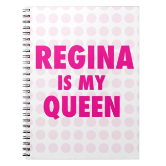Regina es mi reina libretas espirales