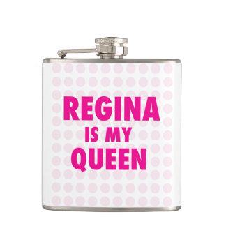 Regina is my Queen Flasks