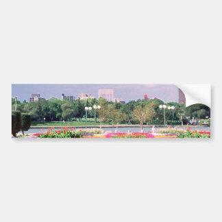 regina - legislative gardens painted bumper sticker