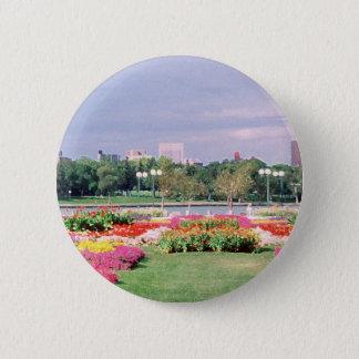 regina - legislative gardens painted button
