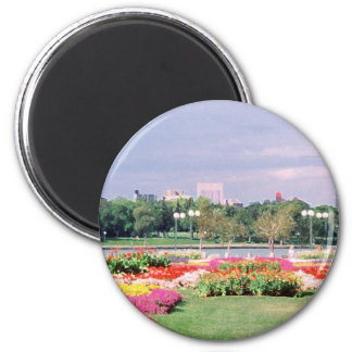 regina - legislative gardens painted magnet