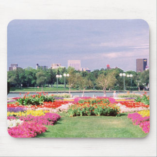 regina - legislative gardens painted mouse pad