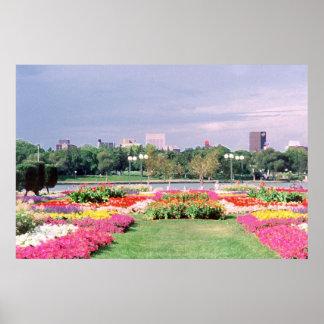 Regina Legislative Gardens Poster