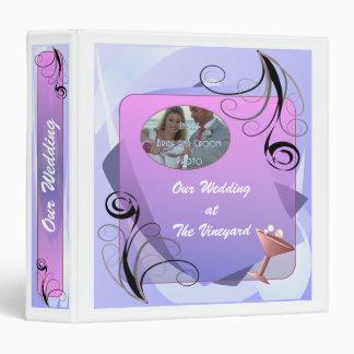 Regina Photo Wedding Album 3 Ring Binder