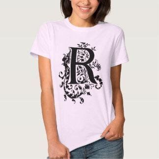 Regina  -  R  Monogram T-shirts