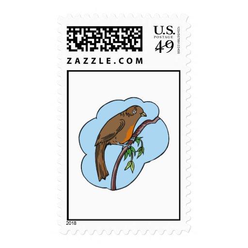 Regina Robin Postage Stamp