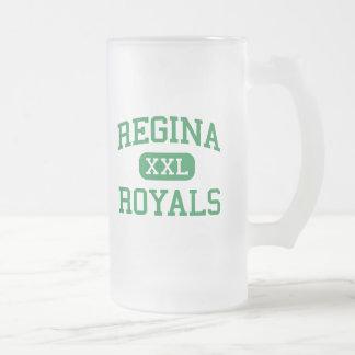 Regina - Royals - High School - South Euclid Ohio 16 Oz Frosted Glass Beer Mug