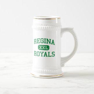 Regina - Royals - High School - South Euclid Ohio 18 Oz Beer Stein