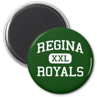 Regina - Royals - High School - South Euclid Ohio 2 Inch Round Magnet