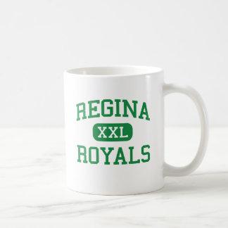 Regina - Royals - High School - South Euclid Ohio Classic White Coffee Mug