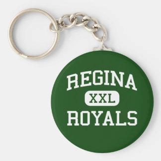 Regina - Royals - High School - South Euclid Ohio Keychain