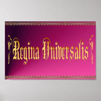 Regina Universalis Poster