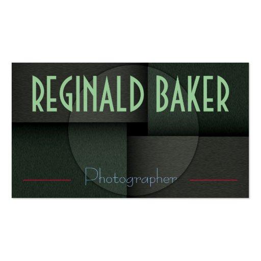 """""""Reginald Baker"""" Business Card"""