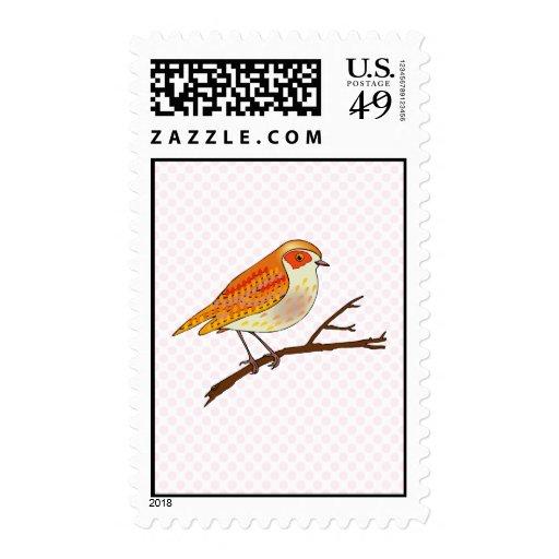 Reginald Robin Postage Stamp