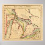 Región 42 de Great Lakes Póster