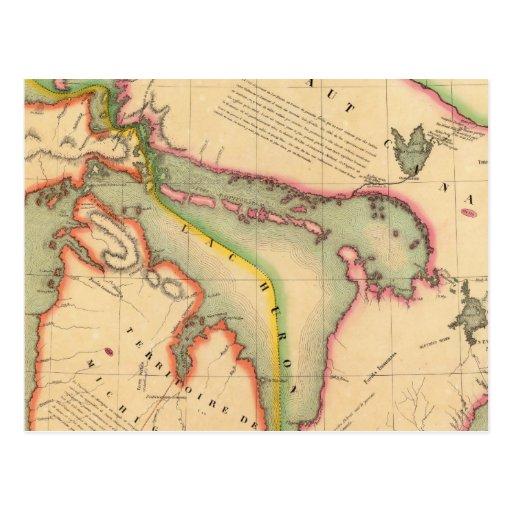 Región 42 de Great Lakes Tarjeta Postal