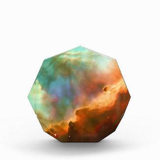 Región agrandada de la nebulosa de Omega