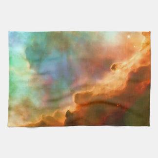 Región agrandada de la nebulosa de Omega Toallas De Mano