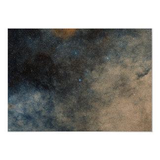Región alrededor del cúmulo de estrellas globular invitación