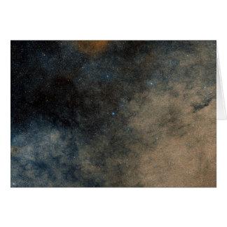 Región alrededor del cúmulo de estrellas globular felicitacion