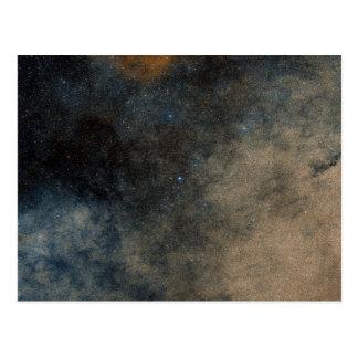 Región alrededor del cúmulo de estrellas globular tarjetas postales