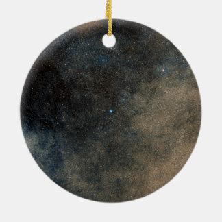 Region Around Globular Star Cluster Terzan 5 Ceramic Ornament