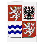 Región bohemia central, checa felicitacion