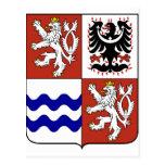 Región bohemia central, checa tarjetas postales