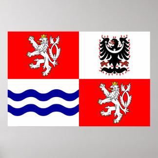 Región bohemia central, República Checa Póster