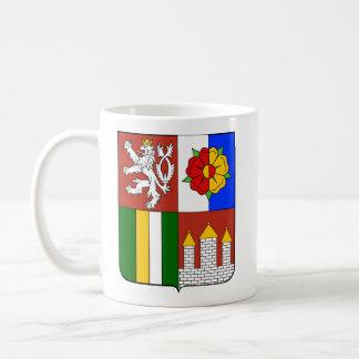 Región bohemia del sur checa tazas de café