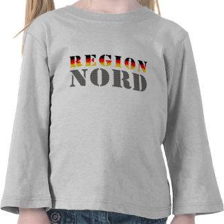 Región boreal Norddeutschland Camisetas