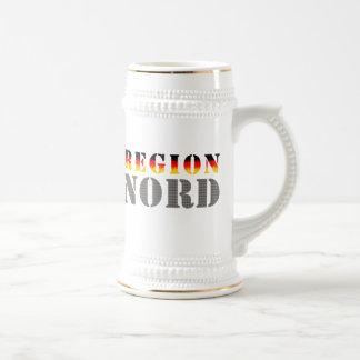 Región boreal Norddeutschland Taza De Café