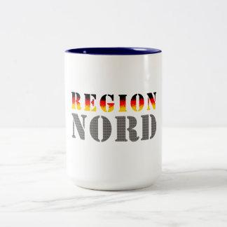 Región boreal Norddeutschland Tazas